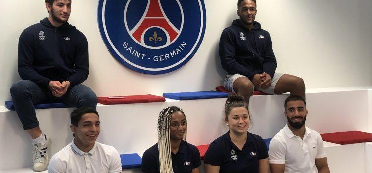 Soutien des athlètes du PSG Judo